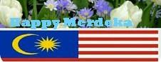 Bendera Malaysia sejak merdeka hingga akhir nanti,, Semoga happy merdeka di mana sahaja,,,