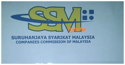 Nama jenama(trade) rm60 setahun nama sendiri ikut kad pengenalan rm30 setahun