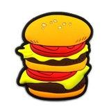 Letak bentuk ini jika terdapat burger dalam peti sejuk? Buang bila stok burger sudah habis,,